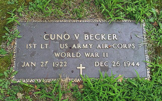 487th Bomb Group H Becker C V