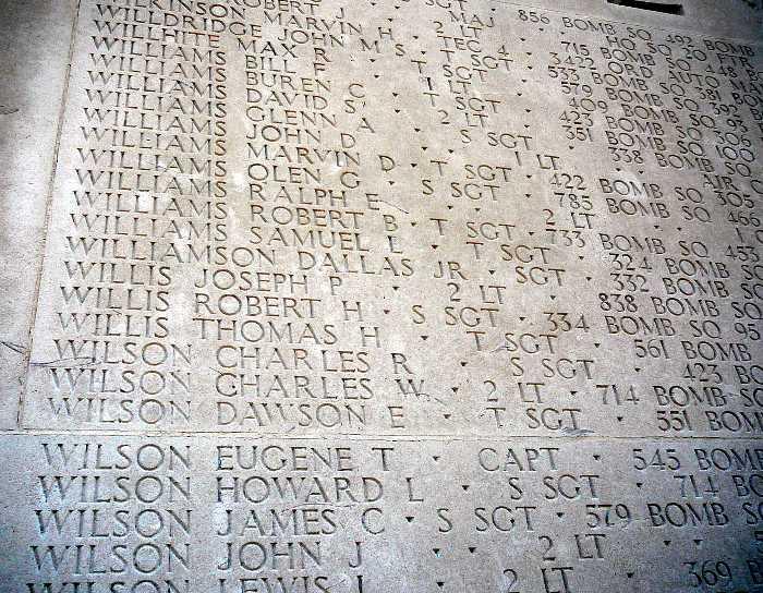 487th Bomb Group H Willis J P
